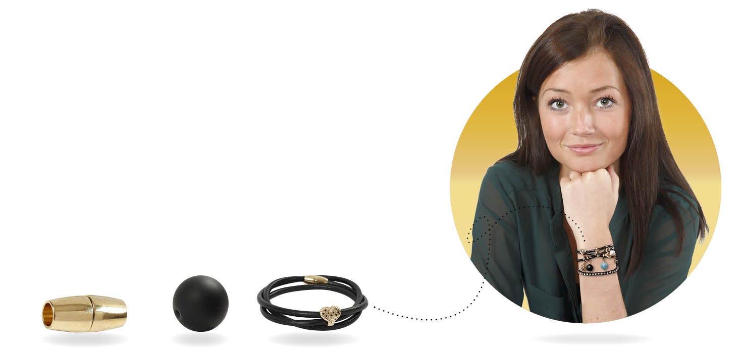 Home-made jewellery
