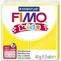 FIMO® Kids Clay, yellow, 42 g/ 1 pack