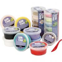 Silk Clay®, assorted colours, 22 tub/ 1 pack