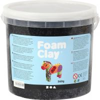 Foam Clay®, black, 560 g/ 1 bucket