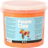 Foam Clay®, neon orange, 560 g/ 1 bucket