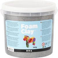 Foam Clay®, metallic, silver, 560 g/ 1 bucket